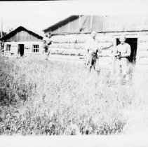 Image of 3046 - J.R. Booth camp at Maple Lake.