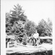 Image of 3047 - Jack Burchat at Kioshkokwi dam.