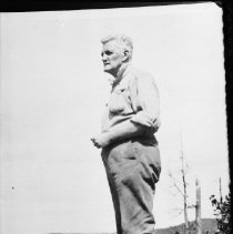 Image of 1925 - A. Wilson Dods at Skymount, Cache Lake.