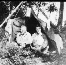 Image of 3071 - Camped at Eagle Lake landing.