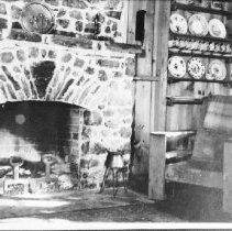 "Image of 1976.2.17 - Interior of ""Trailsyde"" on Cache Lake."