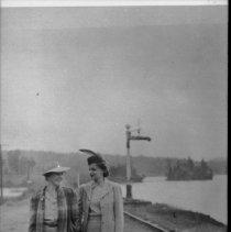 Image of 1976.2.18 - Cache Lake rail line.