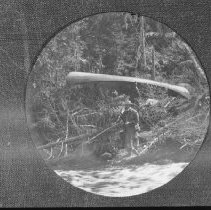 Image of 3110 - George B. Hayes on a fishing trip.