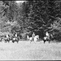 Image of 3145 - Horseback riding, Camp Tanamakoon.