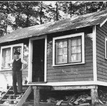 Image of 3157 - George May at Camp Tanamakoon.