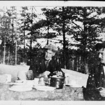 Image of 3158 - Algonquin Park guides, Don May, Herb Mackinney and A.C. May.