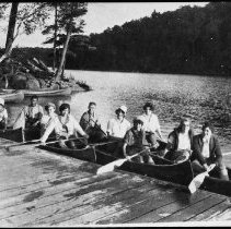 Image of 3162 - Camp Tanamakoon canoe trip.