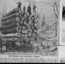 Image of 3219 - Two Horses and 98 Tons of Lumber