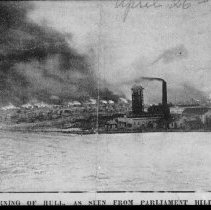 Image of 1900 - The burning of Hull, April 26, 1900