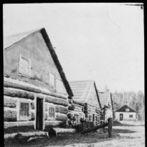 Image of 3259 - J. R. Booth camp at McDougal Lake
