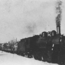 Image of 3262 - Log train in Airy Twp.
