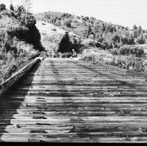 Image of Large railway trestle