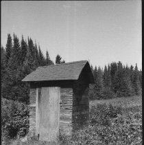 Image of 1976 - Outhouse at Preston Lake fire tower cabin