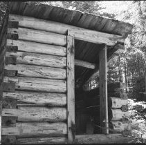 Image of 3372 - Outhouse at Kitty Lake ranger cabin
