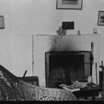Image of 1976 - Interior of one of the Gilmour buildings on Pirie's Island