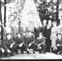 Image of Hain's Memorial at Smoke Lake