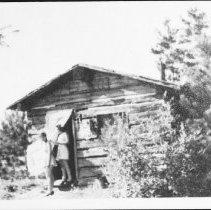 Image of 1943 - Ranger Cabin, Allan Lake