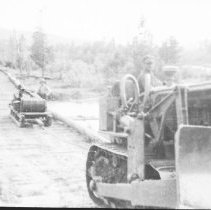 Image of 3490 - Bulldozer Pulling a Sleigh