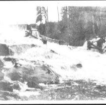 Image of 3581 - The First Log Chute on the Petawawa River