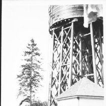 Image of 3620 - Dave and George Hoddy Under the Water Tower