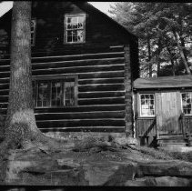 Image of 3695 - West View of Mr. and Mrs. D. Wigham's Cottage