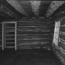 Image of 1977 - Ceiling Rafters at the Nominigan Lodge