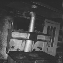 Image of 3801 - The Cook Stove in the Kitchen at the Nominigan Lodge