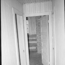 Image of 1977 - The Upstairs Hall in the Staff Section at the Nominigan Lodge