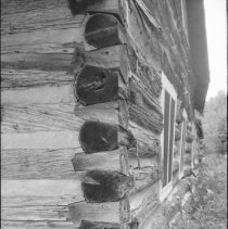 Image of 3817 - A 'dove-tailed' Corner at the Nominigan Lodge