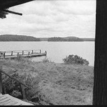 Image of 3831 - View from the Front Veranda of the Nominigan Lodge