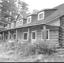 Image of 3834 - Front View of Nominigan Lodge