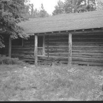 Image of 3837 - Front View of the Guide's Cabin at the Nominigan Lodge