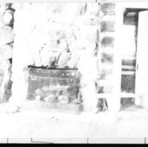 Image of 3851 - Fireplace in the Guide's Cabin at the Nominigan Lodge