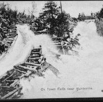 "Image of 3860 - Postcard - ""Ox Town Falls near Huntsville"""