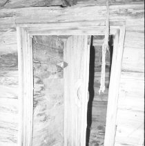 Image of 3864 - Looking Through the Door into the Root Cellar, Behind the Nominigan Lodge