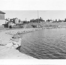 Image of 3992 - Recreation Hall and Houses at Cache Lake
