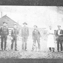 Image of 1908 - Postcard - Huntsville Lumber Co.
