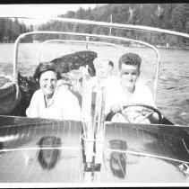 "Image of 4056 - ""David & Kay Ouchterlony, about 1955."""