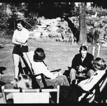 Image of 4078 - Guests on The Lawn at Nominigan Lodge