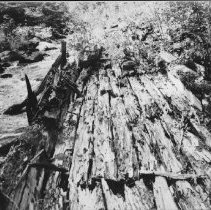 Image of 4116 - The Remains of an Old Timber Chute