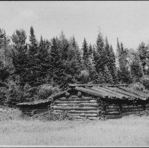 Image of 4117 - The Remains of an Old Camboose Camp
