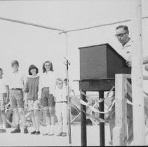 Image of 1964 - Order of Algonquin Ceremony at Lake of Two Rivers