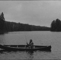 Image of 1977 - Pete Ward, 'Fishing' on Tea Lake