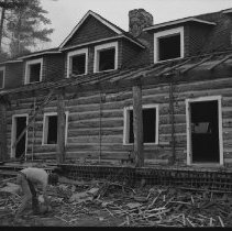 Image of 4146 - Nominigan Lodge Being Torn Down