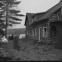 Image of 4149 - Nominigan Lodge Being Torn Down