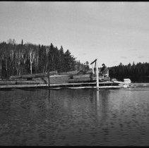 Image of 4173 - Ken Elder Driving the Taylor Statten Barge