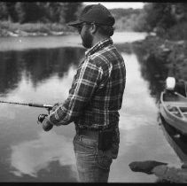 Image of 4400 - Fishing for speckled trout, 1977.