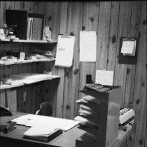Image of 1977 - Ethel Mochulla's desk