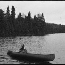 Image of 1977 - Pete Ward fishing, Tea Lake