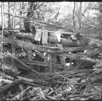 Image of 4482 - Remains of the bridge on the Minnesing road near Polly Lake